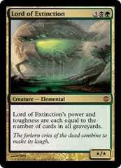 ●MTG ARB 絶滅の王/Lord of Extinction 英語 4枚●
