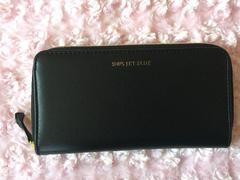 シップス/SHIPSジェットブルー上質レザー財布