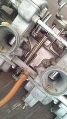 Z400FX 軽バネ アクセル軽くなるZ550FXキャブマフラーエンジンGS400CBX400ヨシムラ