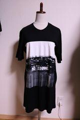JULIUS 16SS 限定 オーバーサイズ プリント Tシャツ カットソー