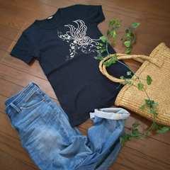〇TORNADO MART〇バタフライスタッズTシャツ*・゜