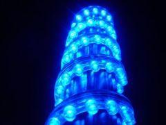 超発光/防水 LEDチューブ 96�p ブルー/青