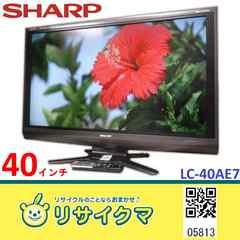 MK813▽シャープ 液晶テレビ 2010年 40インチ AQUOS LC-40AE7