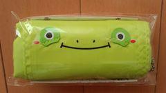 【新品未使用・未開封】くるっとアニマルエコバッグ・黄緑色