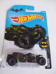 ホットウィール バットマン アーカムナイトバットモービル BATMAN 緑