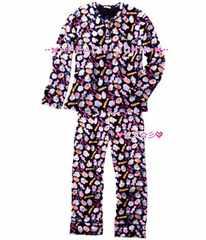 新品pj♪Candy&Cake/キャンディボーイズフリースPJ♪激レア暖かメンズパジャマ♪
