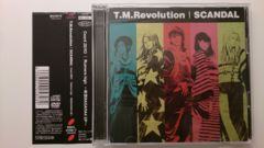T.M.Revolution「Count ZERO」初回DVD+帯付/SCANDAL/BASARA