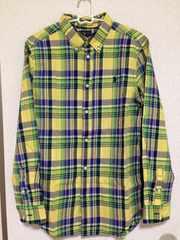 新品タグなし☆RALPH LAUREN boys XL18ー20☆チェックBDシャツ