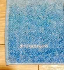 未使用タグ付シュウウエムラshuuemuraタオルハンカチ日本製