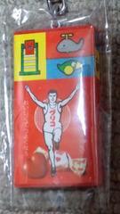 グリコ☆キーホルダー☆グリコ缶セット販売.未使用.昭和レトロ