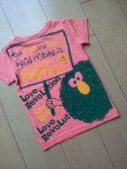 新品Tシャツ110ピンクLOVEREVOLUTIONラブレボ