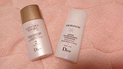 Dior★スノーホワイトニング&カプチュールトータル★ローション2個セット