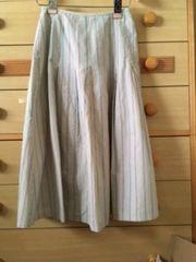 リブレクレアキレイな色合いのストライプ スカート/送料250円