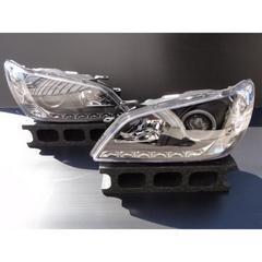 トヨタ プロジェクターヘッドライト インナーブラック アルテッツァ IS イカリング付き