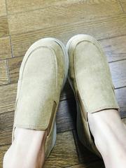 ベージュの靴(/ω\)