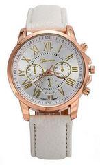 特別価格★休日お洒落に腕時計★白初期不良保証