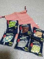 一(はじめ)緑茶ノベルティー♪小座布団携帯クリーナーストラップ♪全6種set