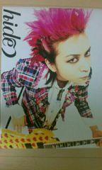 X JAPAN hide ポスター イエローハート