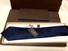 LV ルイ ヴィトン ねくたい ネクタイ 正規品 中古 美品 送料込