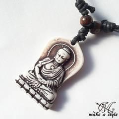 ブッダ 仏陀 仏教 大仏 buddhism ネックレス チョーカー 576