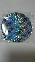 三代目JSB BLUE PLANET デカ缶バッジ横ロゴ ブルー METROPOLIZに