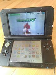 ニンテンドー 3DS LL ブラック ソフト2枚 カバー付き ジャンク
