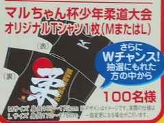 東洋水産マルちゃん杯少年柔道大会オリジナルTシャツLサイズ当選品ミズノ製