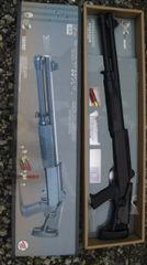 18才以上用エアーガンポンプアクションコッキングショットガン3発発射散弾銃