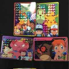 ポケットモンスターアニメコレクション金、銀1  ::  15セット