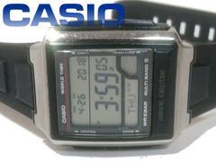 良品 レア品★CASIO 電波受信モデル レトロ デジタル 腕時計★