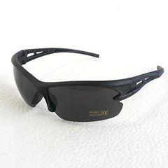 今回のみ390円★人気スポーツサングラス UV400 黒
