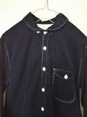 ◆DMG◆ドミンゴ水玉コーデュロイシャツ