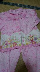 130薄手可愛い長袖パジャマ