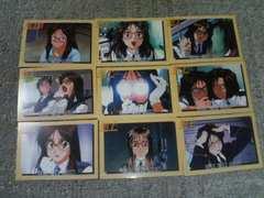 トレカ  逮捕しちゃうぞ1   キャラクターカード 二階堂頼子 #73〜#81