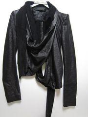 ハイダーアッカーマン 変形レザージャケット