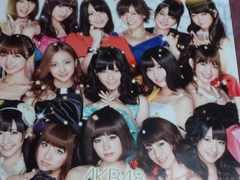 【パチンコ AKB48 M12 AKBフェスティバル】非売品ポスター