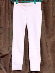 100スタ◯ZARA スーツ ストレートパンツ 白