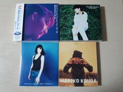 國府田マリ子CD4枚セット ライブ ベスト やってみよう 初回盤★