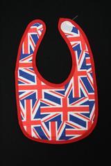 パンクロック♪新品★ユニオンジャック総柄よだれかけ/スタイ/イギリス/英国旗