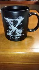 X JAPAN マットブラックマグ ローソン限定グッズ YOSHIKI hide