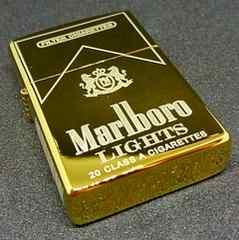 ZORRO マルボロ Marlboro ゴールド Zippoサイズ