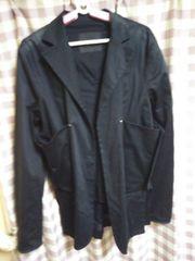 ★annhagen 変わったデザイン ジャケット だぼっと羽織るだけ サイズM●