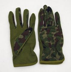 陸上自衛隊 迷彩手袋 すべり止め付(PX品)