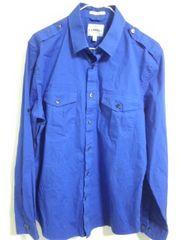 エクスプレス 青シャツ