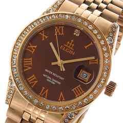 エルジン ロイヤル ダイヤ使用  レディース 腕時計 FK1402PG-CH