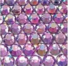 ● 3mm ● デコ用ストーン  2000粒 ライトパープル