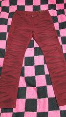 『バナナセブン☆BANANA*SEVEN☆赤刺繍パンツサイズL』