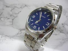 新品 ★腕時計 シルバー ブルー /ロレックス好きに