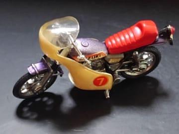 希少1970年代製バイクのミニカー