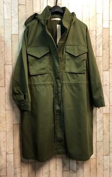新品☆Lモッズジャケット・モッズコート・カーキ色♪☆n700